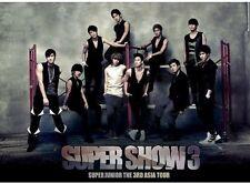 3rd Asia Tour Concert Album: Super Show 3 - 2 DISC SET - Super J (2011, CD NEUF)