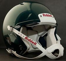 Riddell Revolution SPEED Classic Football Helmet (Color: METALLIC EAGLES GREEN)