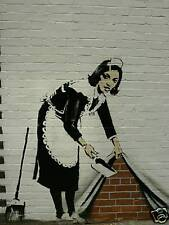 QUALITY BANKSY ART PHOTO PRINT (MAID IN LONDON)