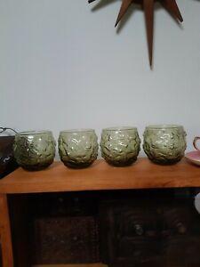 4 Mid Century Drinking Glass's