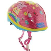 New Peppa Pig Kids Girls Outdoor Cycling Bike Safety Helmet 48-54cm 3 + Years