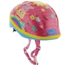 Peppa Pig Girls Childs Kids Pink Bike Skating Safety 48-52cm Helmet M13077