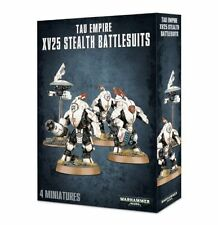 Warhammer 40k Tau Empire XV25 Stealth Battlesuits NIB