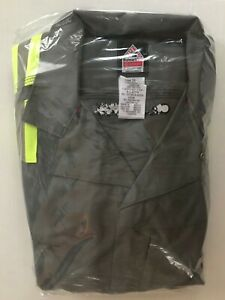 Bulwark IQ Series FR Flame Resistant 9.0ATPV Gray Coverall Mens 42-LN CAT2 2112