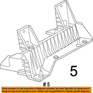 CHRYSLER OEM Air Cleaner Box Housing-Mount Bracket Support 53032453AE