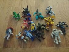 Vintage MMPR Power Rangers Evil Space Aliens Lot Used with weapons