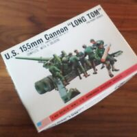 Bandai #8293 1/48 scale WWII US Army 155mm Cannon 'Long Tom' Vintage READ DESC