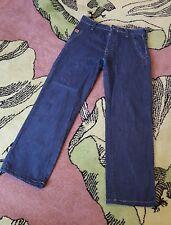 "AIRWALK Mens Dark Blue Regular Fit Denim Jeans Size 30"" Waist 30"" Leg W30 L30"
