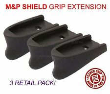 Pearce Grip S&W M&P Shield 9mm/40S&W Magazine Plate Mag Extension PG-MPS 3 PACK