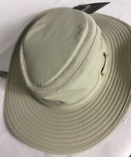 Henschel 10 Point 3D Dimension Tan Hat With Mesh And Strap Medium New