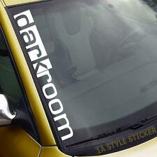 auto Frontscheibenaufkleber darkroom  camber dapper illest black edition 272