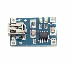 Tp4056 5V Micro Usb 1A Lithium Battery Charging Board Charger Module 10pcs