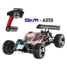 Wltoys A959 Upgraded 540 Brush Motor High Speed 50km/h 1:18 4D 2.4G RC Cars Toys