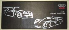 Le Mans 1999 - Audi R8R Spyder & R8C Coupe - Rare Dome Topped Type Sticker Set