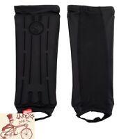 Shadow Invisa-Lite Shin Guards Foam Padded Breathable Lightweight Black