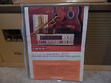 Vintage Sansui TR-707A  Advertising from Japan