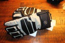 Bogner Agon de cuero guantes gris negro tamaño 8,5 m nuevo con etiqueta