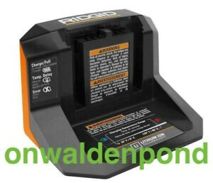 RIDGID GENUINE R86093 18V LXT LITHIUM-ION TOOL BATTERY CHARGER - BRAND NEW