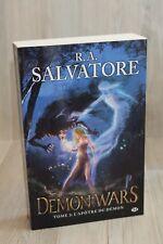 Demon Wars 3 L'Apôtre du démon - R.A. Salvatore - Livre grand format - Occasion