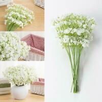 Artificial Baby's Breath Gypsophila Silk Flowers Bouquet Wedding Party U0E1