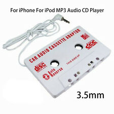 1Pc Car Stereo Cassette Tape Adapter For iPhone For iPod Mp3 Audio Cd Player Us