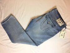NWT $200 TRUE RELIGION Men Jeans SKINNY Flap  OLD MULTI Diamond Ghost SZ 46X35