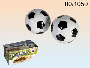 Fußball Salz- und Pfeffer-Streuer Football Porzellan 5,5 cm