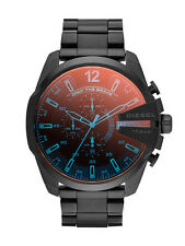 Diesel DZ4318 Mega Chief Mens Watch Chronograph Black Stainless Steel