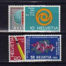 SUISSE SWITZERLAND Yvert  n° 673/676 neuf sans charnière MNH