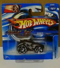 2006 Hot Wheels #161 Rocket Box Grey Black Red Short Card Die Cast New Toy Car