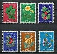 33578) BULGARIA 1976 MNH** Flowers 6v