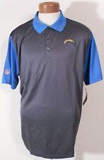 NWT Nike San Diego Chargers Mens Preseason Performance Polo Shirt L Charcoal $70