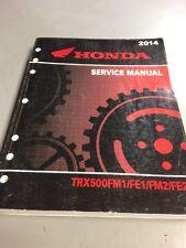 Honda Service Manual TRX500FM1 FE1 FM2 FE2 2014