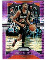2019-20 Panini Prizm Purple Pulsar Prizm SP 1of1 Mikal Bridges JERSEY#25/35 🏀🔥