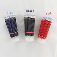 10pcs Ballpoint Pen Refills 0.5mm Overstriking Gel Black Ink Refill Pens s