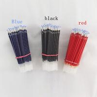 10pcs Kugelschreiber Refills 0.5mm overstriking Kugel Gel Black Ink Refill p GAA