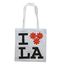 RED HOT CHILI PEPPERS I LOVE LAS CANVAS TOTE BAG