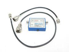 Com-Power PAP-501 10-1000MHz 21dB Gain Pre-Amplifier w/ Cables
