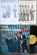 R&B VOCAL GROUP LP: THE COASTERS Atco 33-101 original harp label DG + 2 photos