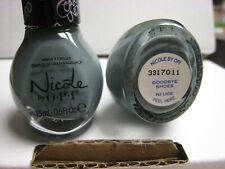 2 yes 2 pcs Nicole by Opi Nail Polish #Ni U06 Goodbye Shoes shade