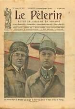 Portrait Aviateurs Henri Carol Ludovic Arrachart sur Potez 25. 1925 ILLUSTRATION