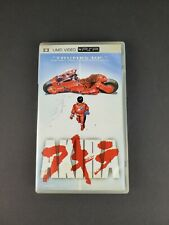 Akira PSP UMD Video Anime Complete CIB w/ Inserts Rare PlayStation TESTED