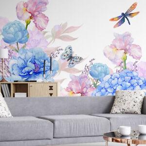 VLIES FOTOTAPETE Tapete Wandbilder XXL Natur Wiese Blumen 1405