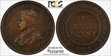 AUSTRALIA SCARCE 1915H HALF PENNY - PCGS GRADED VF35 - KEY DATE
