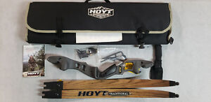 "Hoyt Satori 19"" Right Hand Storm Riser with Medium Maple Limbs"