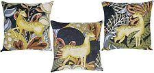 PSYCHEDEERIC I/II/III,  TAPESTRY CUSHION COVER SET, 100% COTTON, MADE IN BELGIUM