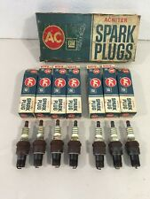 NOS AC R46N Spark Plugs Lot of 7 1968-1969 Buick 1970-1973 Cadillac 68-69 Chevy