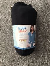 Moby Baby Wrap Black With Pouch