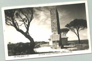 Rose Series Archives postcard - P3870 Matthew Flinders Monument Mornington