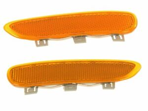BMW E46 325Ci 330Ci M3 Front Bumper Cover Yellow Reflectors / Lights L + R